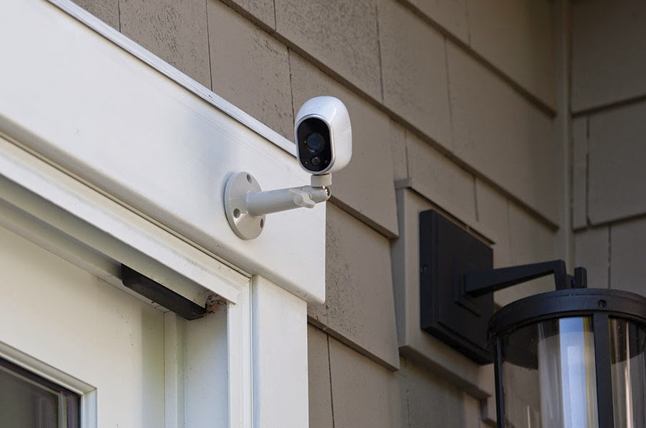 how to install wireless outdoor security cameras