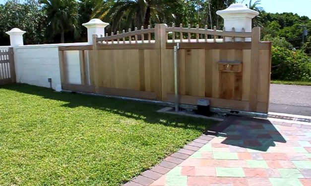 How to Build a Sliding Gate for Driveways?